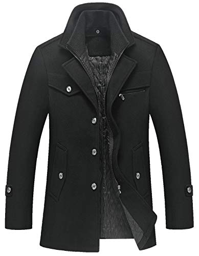 Mens Coat Black