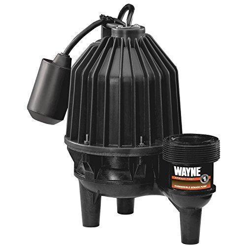 Wayne 57333-WYN4 SEL50 1/2 hp Thermoplastic Sewage Pump