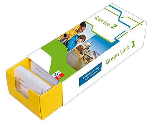 Klett Green Line 2 Bayern Klasse 6 - Vokabel-Lernbox zum Schulbuch: Englisch passend zum Lehrwerk üben