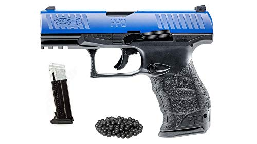 T4E Walther PPQ LE M2 (GEN2) .43cal CO2 Semi Auto Blow Back Paintball Pistol w/Extra Magazine and Free 50 Rubber Balls
