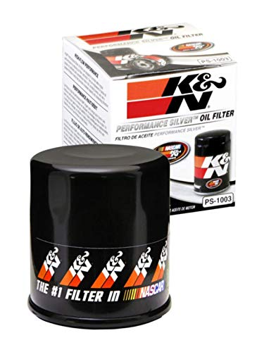 K&N Premium Oil Filter: Designed to Protect your Engine: Fits Select TOYOTA/LEXUS/SUZUKI/CHEVROLET Vehicle Models (See Product Description for Full List of Compatible Vehicles), PS-1003, Multi