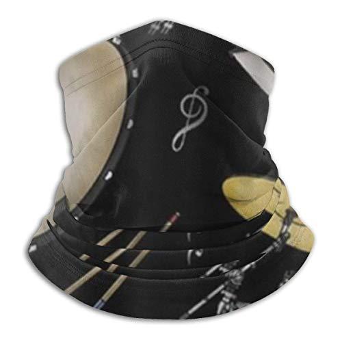 Nicht zutreffend Rock Drum Stand Microfaser Skimaske Kaltwettermaske Nackenwärmer Fleece Kapuze Winter Hüte