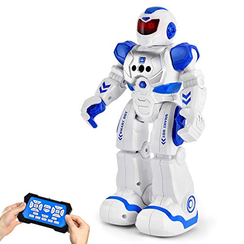 RC Robot for Kids Smart Robots Toys, Programmable Remote Control Robot Intelligent with Infrared...
