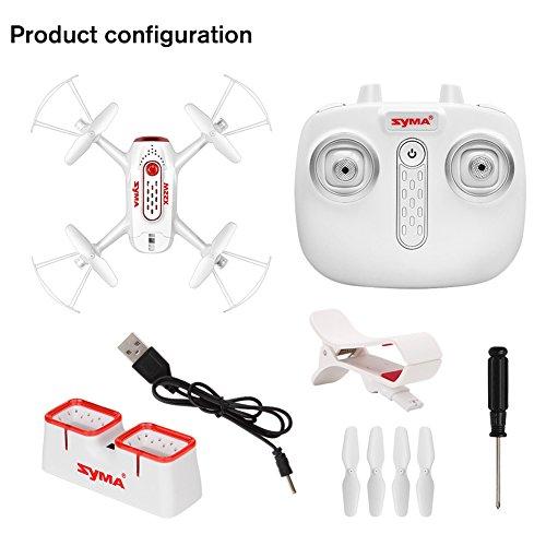 SYMA X22W Mini télécommande Set Quadcopter...
