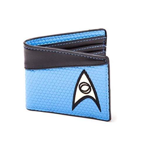 Geldbörse Star Trek Blau und Schwarz