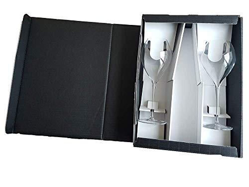 LEHMANN GLASS Grand Champagne Champagnerglas 2er Set im Geschenkkarton