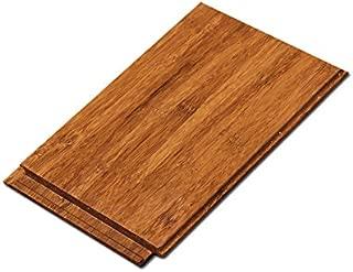Cali Bamboo - Solid Click Bamboo Flooring, Medium Java Brown - Sample Size 8