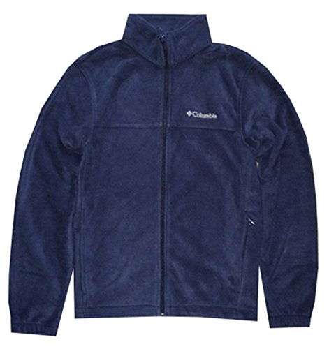 Columbia Men's Granite Mountain Fleece Jacket (Medium, Navy)