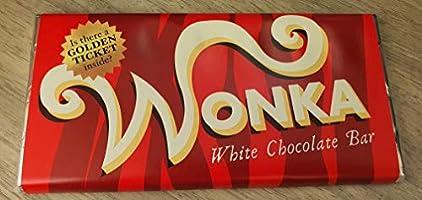 Wonka Witte Chocolade Met Gouden Ticket :)