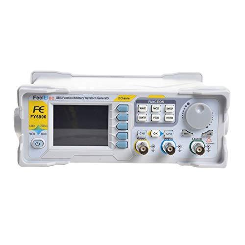 FY6900-60M DDS Signalgenerator Dual-Ch 0,01-100 MHz arbiträrer Wellenformpuls