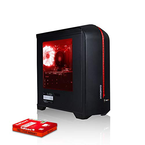 Fierce Crusader Gaming PC - Schnell 4.0GHz Quad-Core AMD Ryzen 3 2300X, 240GB Solid State Drive, 8GB...