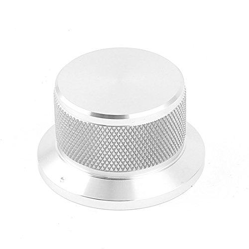 Uxcell a15020500ux0447 - Manopola di controllo potenziometro CNC in lega di alluminio, foro 6 mm, 44 mm