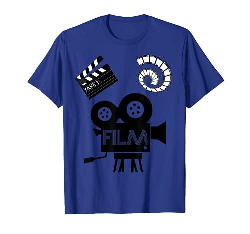 Movie Director Video Camera Filming Novelty T-Shirt