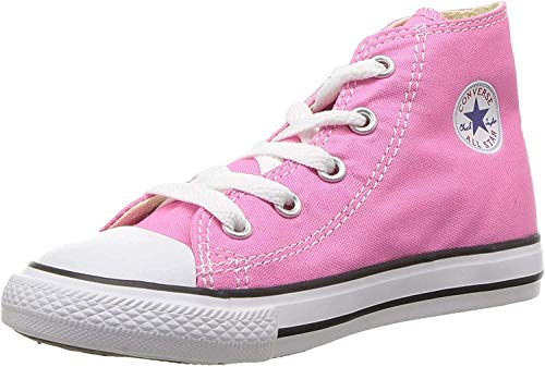 Converse Unisex-Kinder Chuck Taylor All Star High Fitnessschuhe, Pink (Pink 650), 34 EU