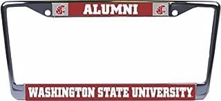 Washington State University Alumni Glossy Print Chrome Frame