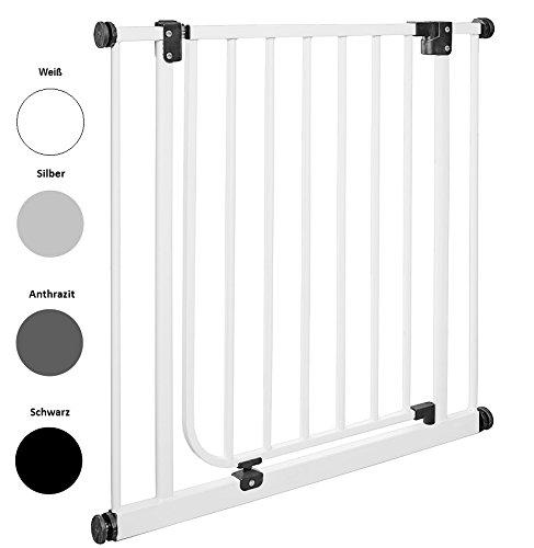 IMPAG Schutzgitter EASY STEP | 62 bis 222 cm | Treppenschutzgitter| Türschutzgitter...