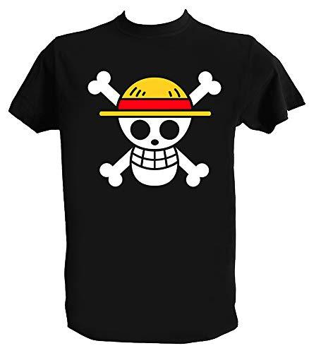 Camiseta One Piece Luffy, One Piece Jolly Roger, Trafalgar Law, Anime Manga