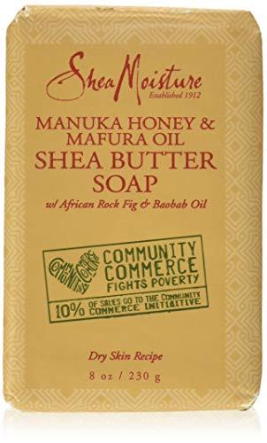 SHEA MOISTURE Manuka Honey & Mafura Oil Shea Butter Soap Dry Skin