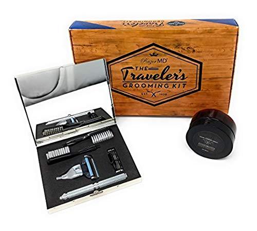 RAZOR MD BROOKLYN | Traveler's Grooming Kit | 6 Teile | Premium