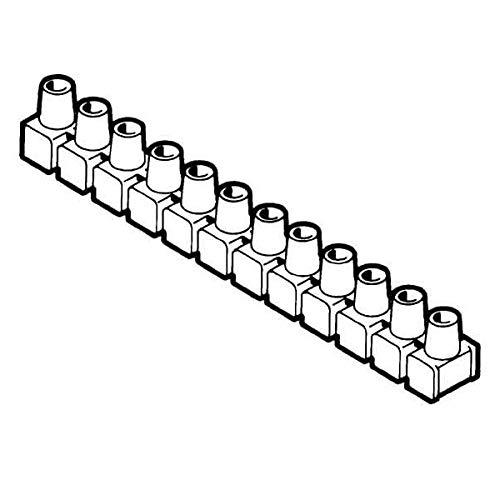 Dosenklemme, 12-polig, 4-6², einseitig geschlossen, 10 Riegel