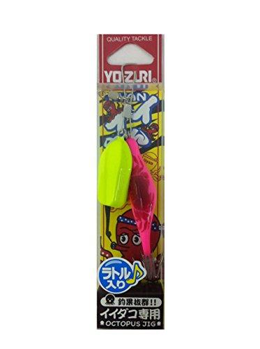 ヨーヅリ(YO-ZURI) エギ(タコ): [ST]イイやんラトル 鉛付 6号 PKI: ピンクガニ