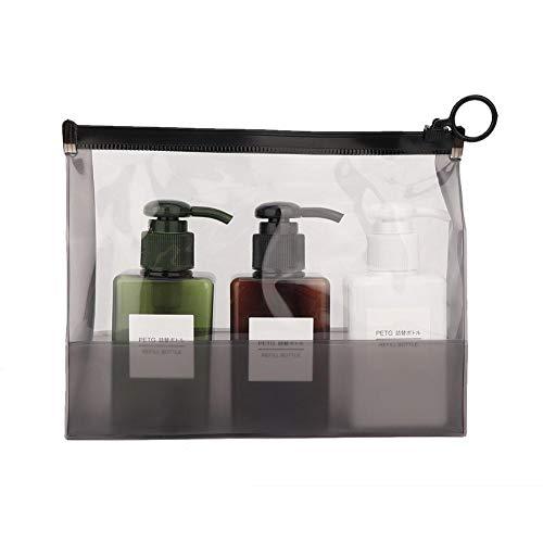 Ensemble de bouteilles de voyage, 4 types 3pcs / Set Kit de contenant de crème pour lotion de bouteille de lotion de pulvérisation de maquillage(02)