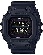 Casio G-SHOCK Orologio 20 BAR, Nero, con Ricezione Segnale Radio e Funzione Solare, Digitale, Uomo, GX-56BB-1ER