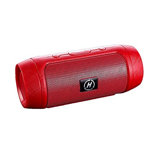 Esenlong Altavoz Bluetooth, altavoz inalámbrico portátil estéreo con micrófono incorporado con cancelación de ruido para el hogar al aire libre