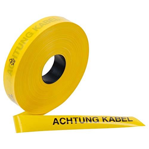 3M Deutschland Trassenwarnband DE-9999-6048-2 Achtung Kabel 250m Warnband 4001895498312