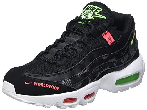 Nike Air Max 95 Worldwide Pack, Chaussure de Course Homme, Black, 41 EU