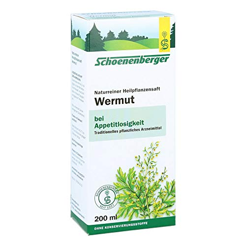 Schoenenberger Wermut naturreiner Heilpflanzensaft, 200 ml Lösung