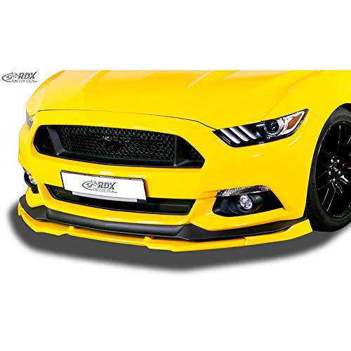 RDX Frontspoiler VARIO-X Mustang VI (2014-2018) Frontlippe Front Ansatz Vorne Spoilerlippe