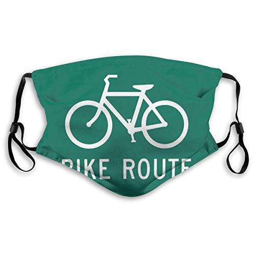 Fiets Bike Route Masker Ademend Polyester Mond Masker Waterafstotend Gezichtsmasker Mond