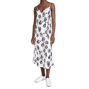 Club Monaco Women's Shiny Slip Dress