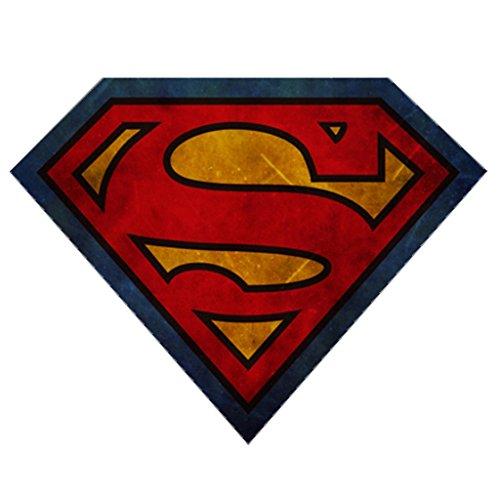 Alfombra con Logo de Creative Superman S/Alfombra de baño Multifuncional/Alfombra de Sala de baño (Color : 62CM×80CM)