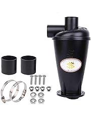Cyklon separator pyłu filtr przeciwpyłowy SN50T3 wysokiej wydajności cyklon proszek pył zbieracz filtr separator siły odśrodkowej klasa wydajności energetycznej A do próżni z kołnierzem