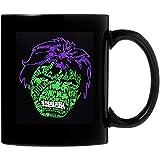 N\A St Patricks Day Incredible Hulk Tazza da caffè in Ceramica 11 Once Regali Personalizzati per Genitori, Ufficio degli Amanti, Regali di San Valentino Entrambi i Lati sensibili al Calore