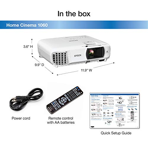 What users saying about Epson home cinema 1060