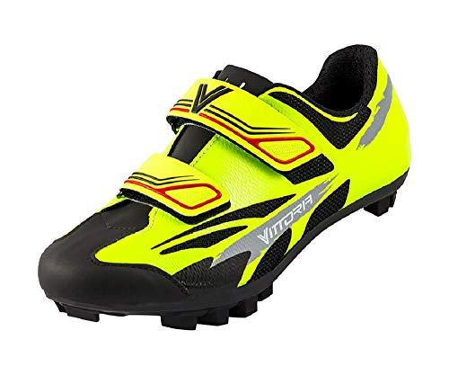 Vittoria Kid MTB Cycling Shoes (EU 33, Yellow)