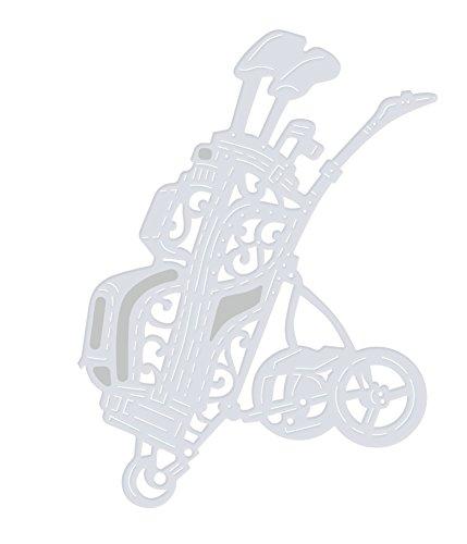 'Sweet Dixie Golftasche und Trolley, grau, Größe M