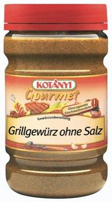 Kotanyi Grillgewürz Gewürzzubereitung ohne Salz Gewürze für Großverbraucher und Gastronomie, 522 g