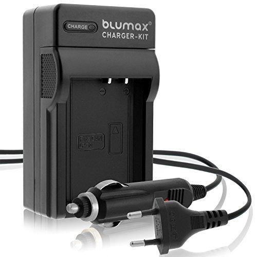 Blumax LP-E10 / LC-E10e Ladegerät | passend zu Canon EOS 1100D 1200D 1300D EOS Rebel T3-T5-T6