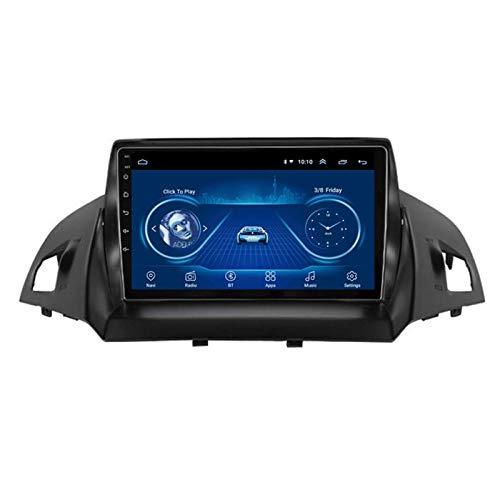 LDXCT Navigazione GPS per Auto da 9 Pollici Android 8.1 Radio Musicale Stereo per Ford C-Max 2013-2016, Controllo del Volante Chiamate in Vivavoce Bluetooth SWC Dab USB