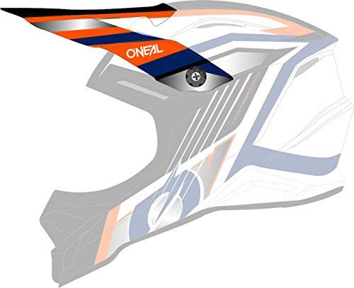 O'NEAL 3 Series Vision Visor Helm Blende Schirm weiß/blau Oneal