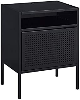 Picket House Furnishings Gemma Nightstand with USB Port in Black