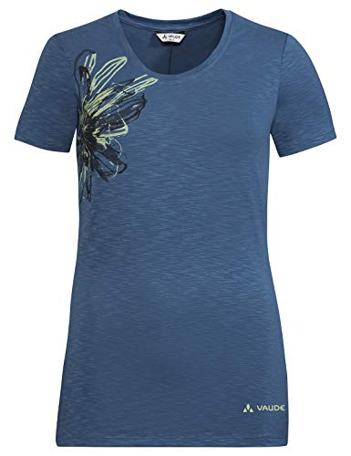 VAUDE Women's Skomer Print Shirt II Femme, Tempest, 46