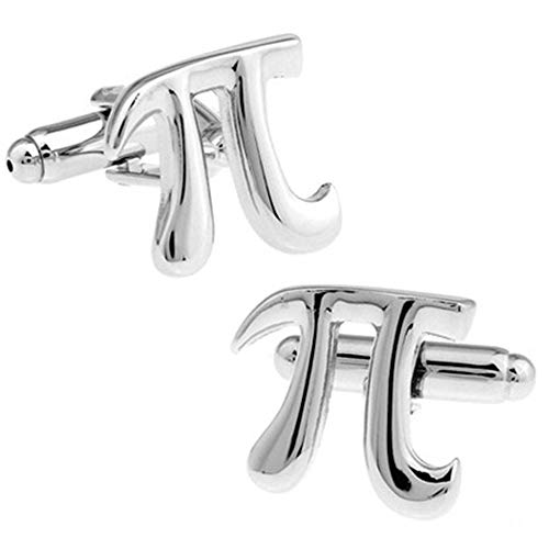Baoga Piktogramm-Mathematik-Symbol-Manschettenknöpfe