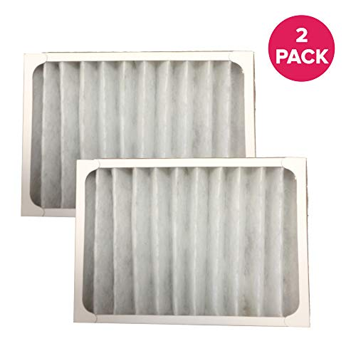 Crucial Air Purifier Replacement - Compatible with Hunter Filter Part # 30057, 30059, 30067, 30078, 30079, 30097, 30124, Models 30928 - Measures 14.5' X 10.3' X 3.5' Inches - Bulk Packs (2 Pack)