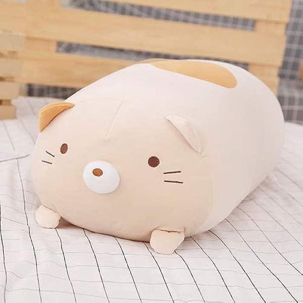 FairOnly 1pc 60厘米日本动画 Sumikko Gurashi 毛绒玩具 San X 角落生物抱枕卡通娃娃儿童生日女孩情人节礼物棕色