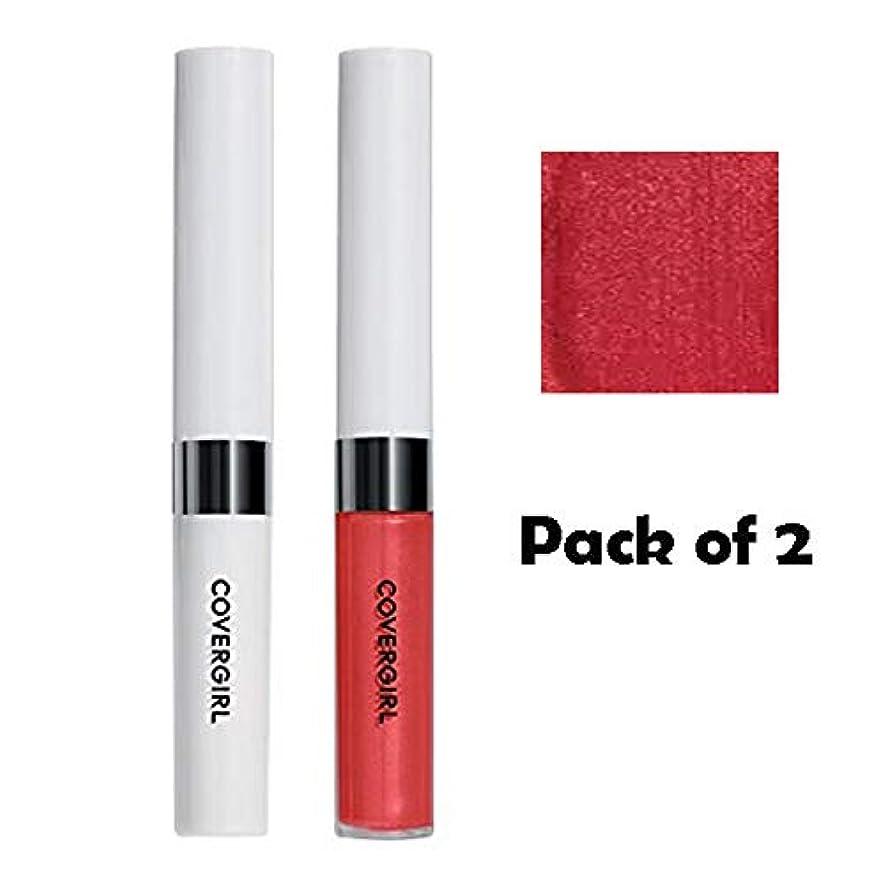 足首無駄だシネマCOVERGIRL Outlast All-Day Moisturizing Lip Color - Sparkling Wine 522 (2 Packs) [海外直送品] [並行輸入品]